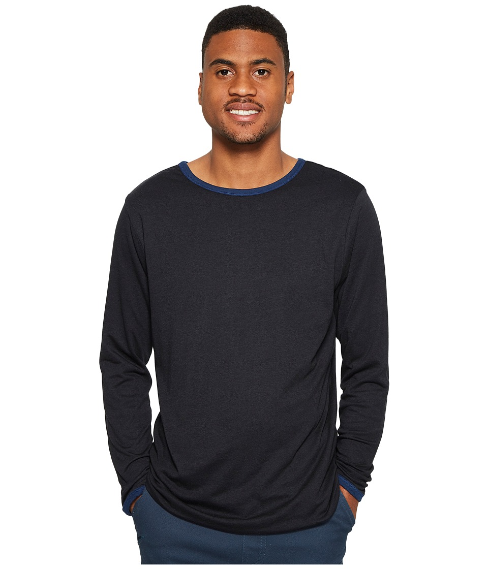 4Ward Clothing Four-Way Reversible Long Sleeve Jersey Tee (Navy/Black) Boy