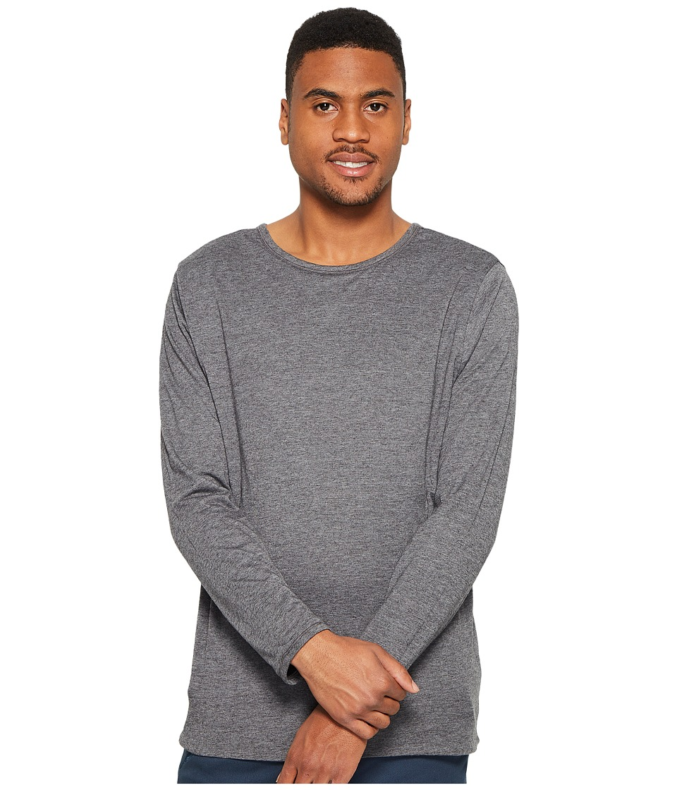 4Ward Clothing Four-Way Reversible Long Sleeve Jersey Tee (Charcoal/Black) Boy