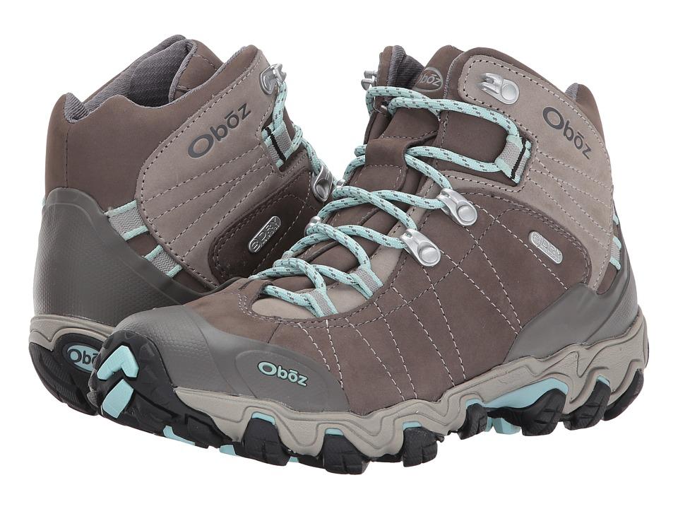 Oboz Bridger BDRY (Cool Gray) Women's Hiking Boots