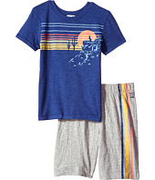 Splendid Littles - Screen Tee Shorts Set (Little Kids/Big Kids)