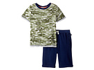Splendid Littles - Cactus Camo Tee Set (Little Kids/Big Kids)