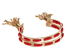 GUESS - Double Bangle C Cuff with Tassel Ends