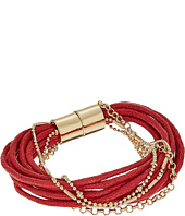 GUESS - Multi Cord and Chain Magnet Close Bracelet