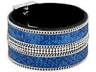 GUESS - Wide Faux Python Magnet Close Cuff Bracelet