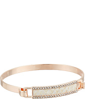 GUESS - Tension Bangle with Faux Pyton Inlay