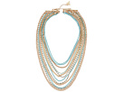 GUESS - Multi Strand Mixed Chain Necklace
