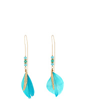 GUESS - Feather Threader Earrings