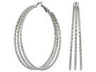 GUESS - Multi Wire Large Hoop Earrings
