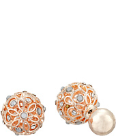 GUESS - Ball Front Back Earrings