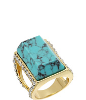 GUESS - Large Faux Turquoise Stone Ring