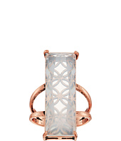 GUESS - Long Rectangular Faux Stone Ring