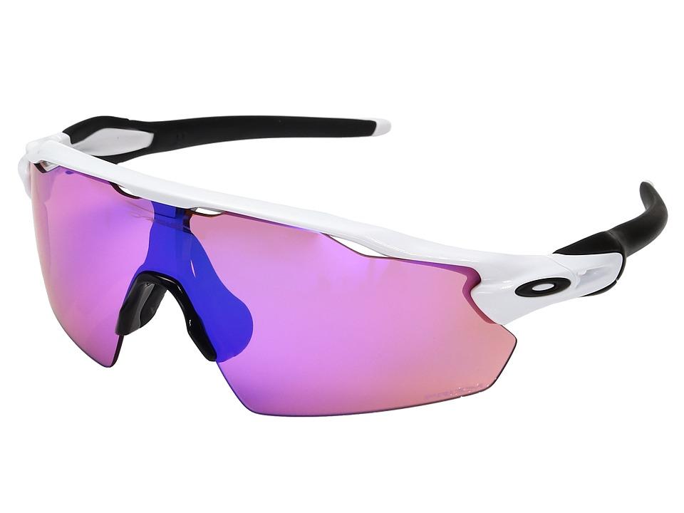Oakley Radar EV Pitch (Polished White w/ Prizm Trail) Fashion Sunglasses