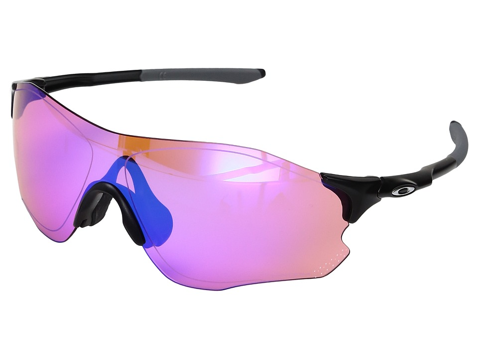 Oakley Evzero Path (Matte Black w/ Prizm Trail) Sport Sun...