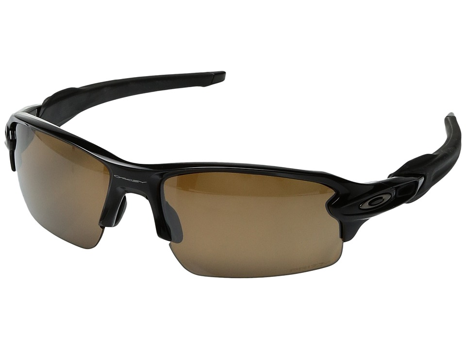 Oakley - Flak 2.0 (Polished Black w/ Prizm Tungsten Polarized) Fashion Sunglasses