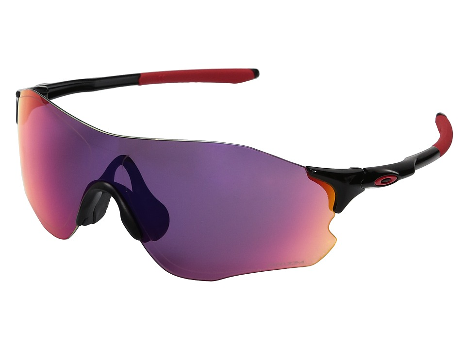 Oakley - Evzero Path (Polished Black w/ Prizm Road) Sport Sunglasses
