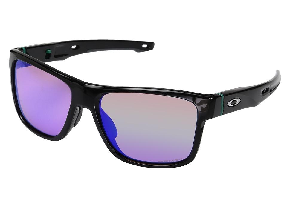 Oakley Crossrange (Polished Black w/ Prizm Golf) Fashion ...