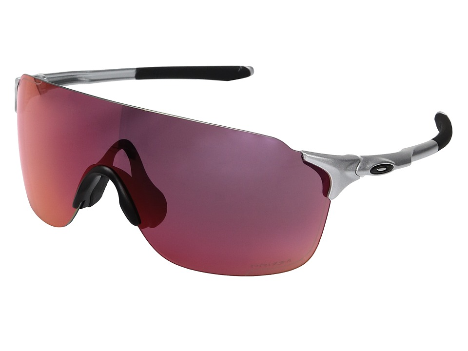 Oakley Evzero Stride (Silver w/ Prizm Outfield) Fashion S...