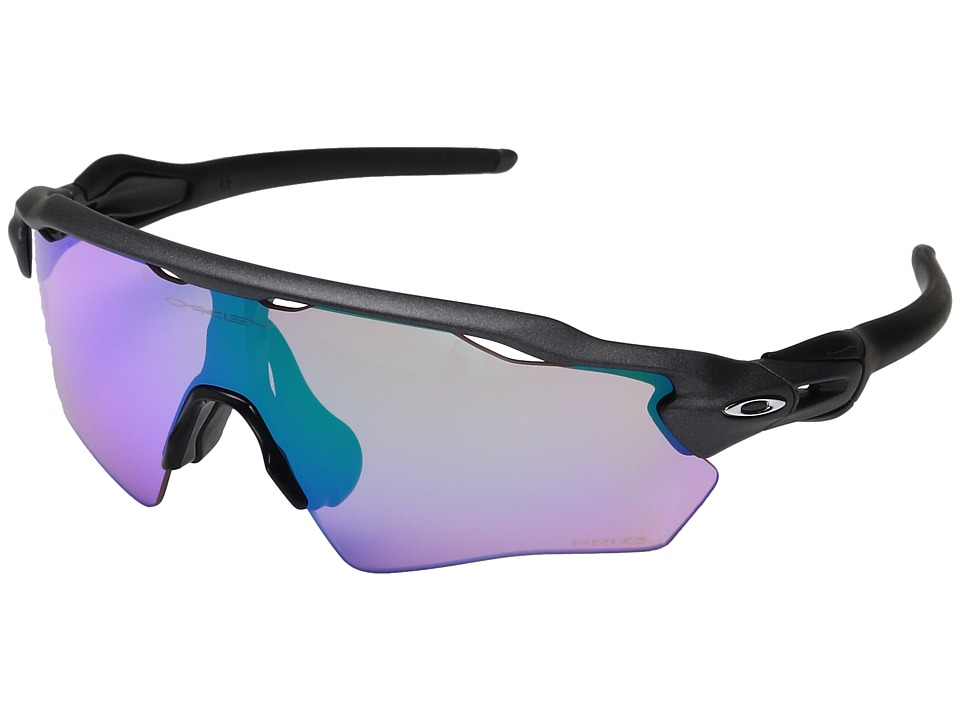 Oakley - Radar EV XS Path (Youth Fit) (Steel w/ Prizm Golf) Fashion Sunglasses