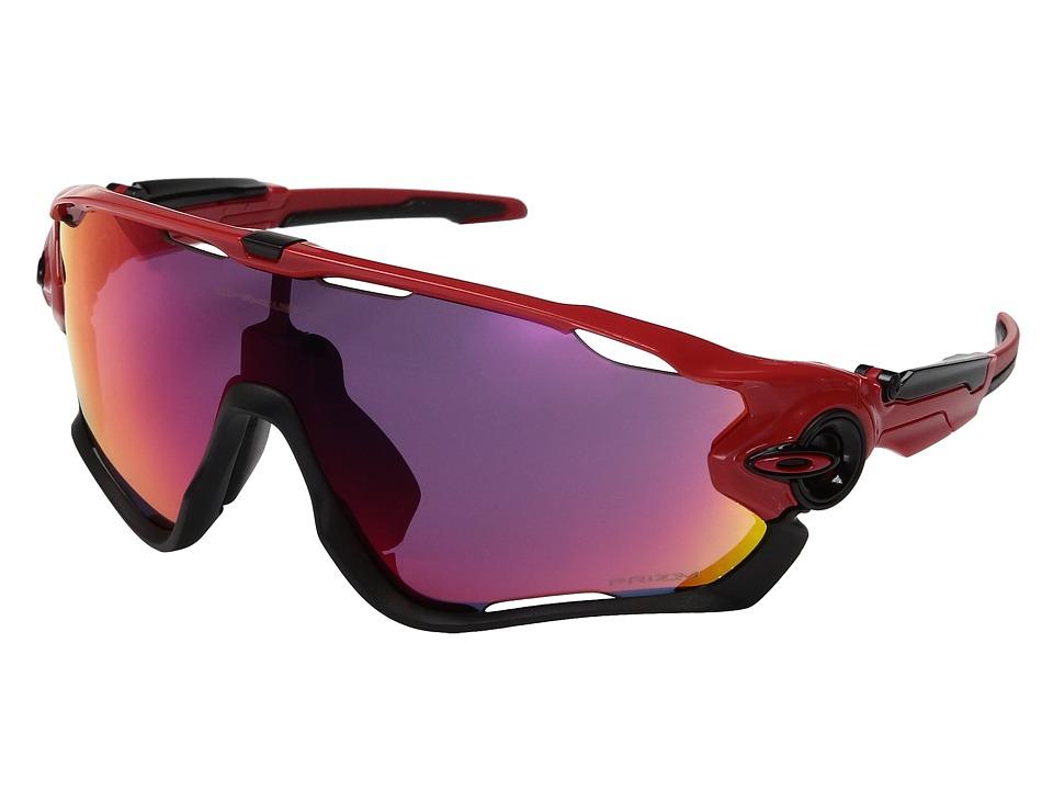 Oakley - Jawbreaker (Redline w/ Prizm Road) Sport Sunglasses