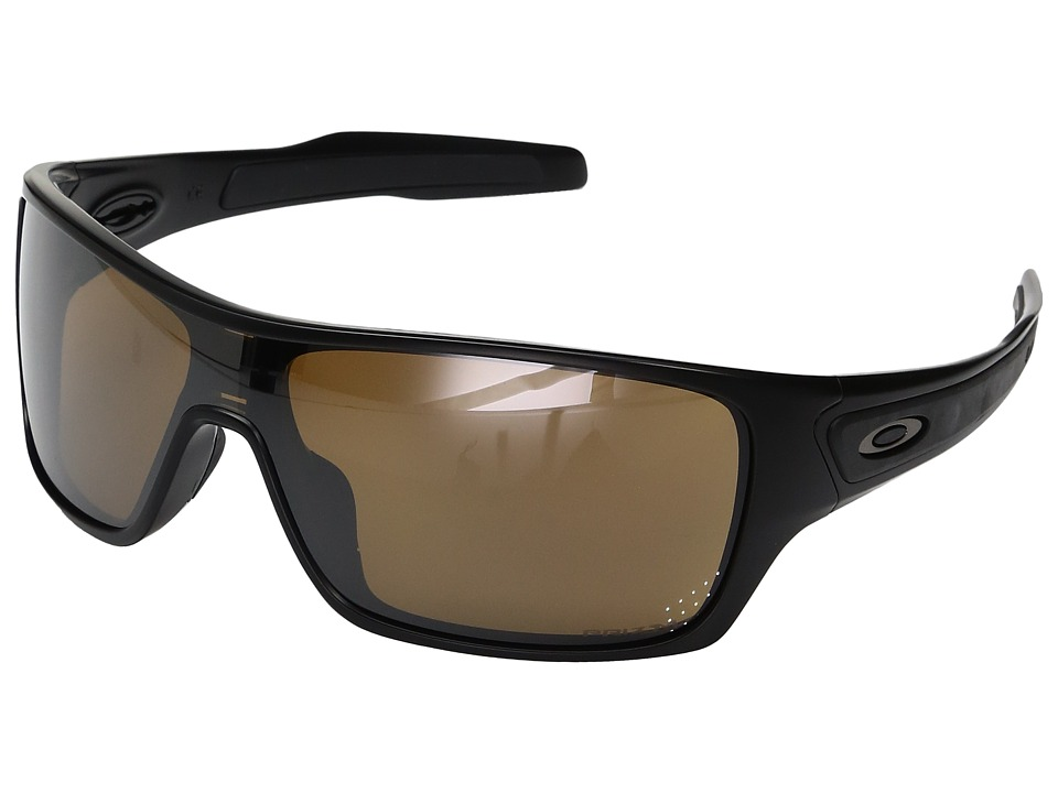 Oakley - Turbine Rotor (Matte Black w/ Prizm Tungsten Polarized) Fashion Sunglasses