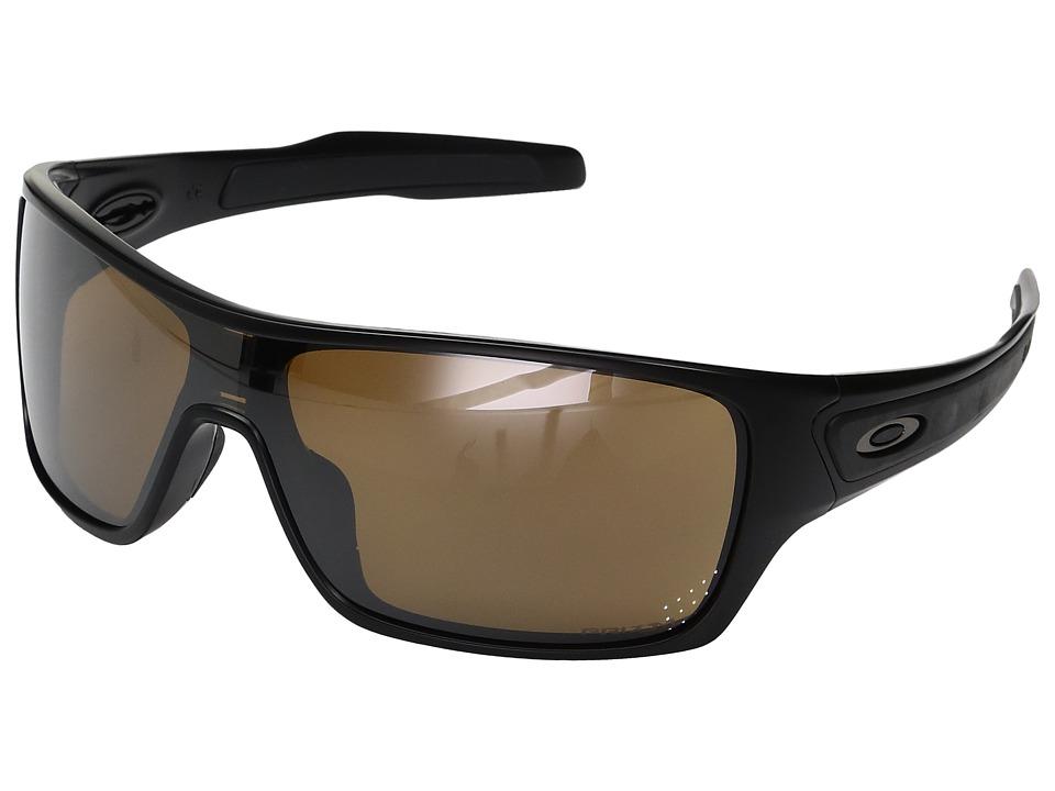 Oakley - Turbine Rotor (Matte Black w/ Prizm Tungsten Polarized) Fashion Sunglasses