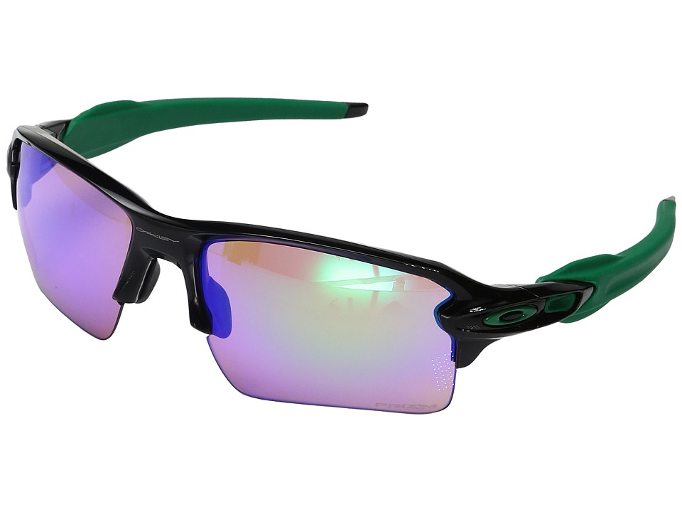 Oakley Flak 2.0 XL (Polished Black w/ Prizm Golf) Fashion...