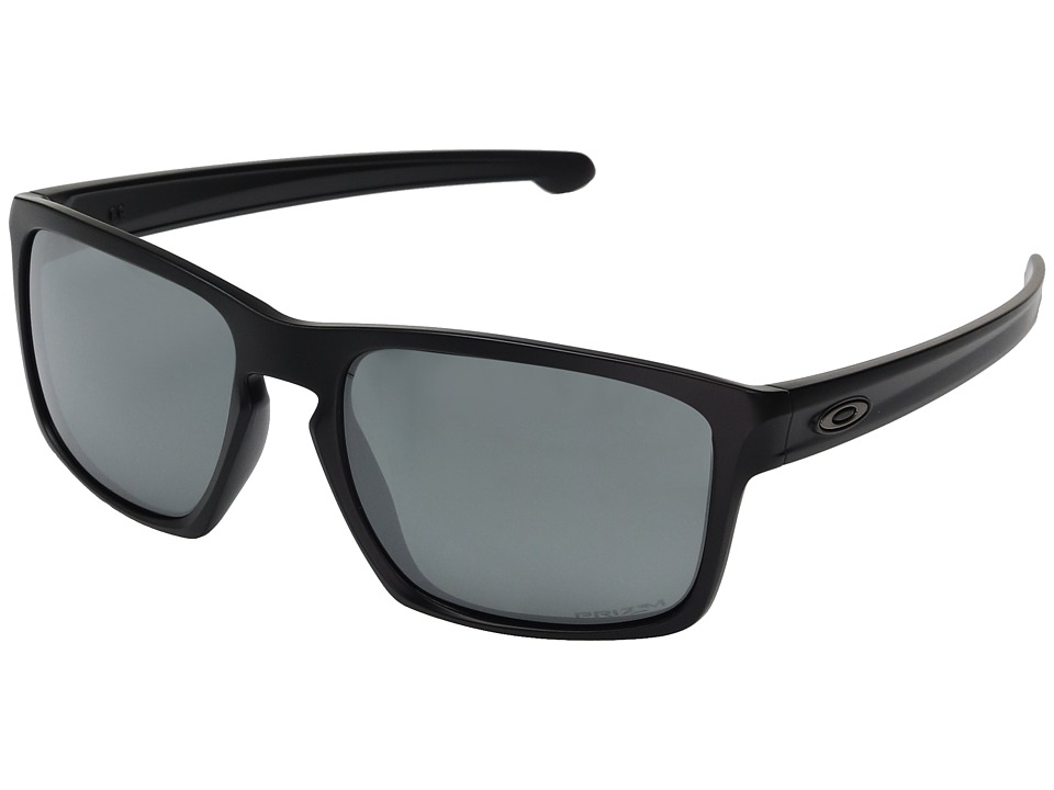 Oakley - Sliver (Matte Black w/ Prizm Black Polarized) Fashion Sunglasses