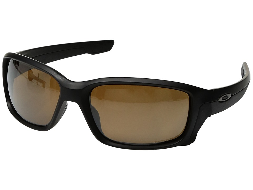 Oakley - Straightlink (Matte Black w/ Prizm Tungsten Polarized) Fashion Sunglasses