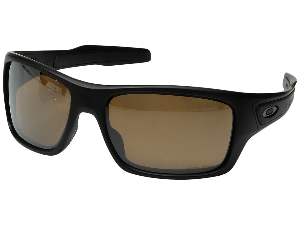 Oakley - Turbine (Matte Black w/ Prizm Tungsten Polarized) Fashion Sunglasses