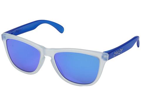 Oakley Frogskins - Matte Clear/Matte Transparent Blue w/ Sapphire Iridium