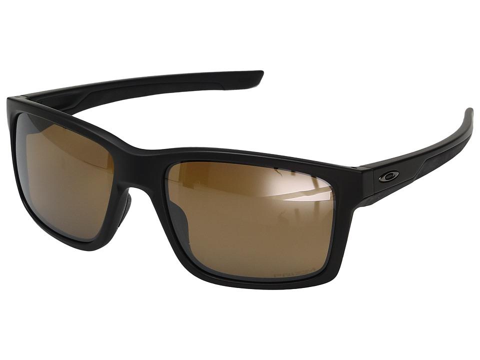 Oakley Mainlink (Matte Black w/ Prizm Tungsten Polarized) Fashion Sunglasses