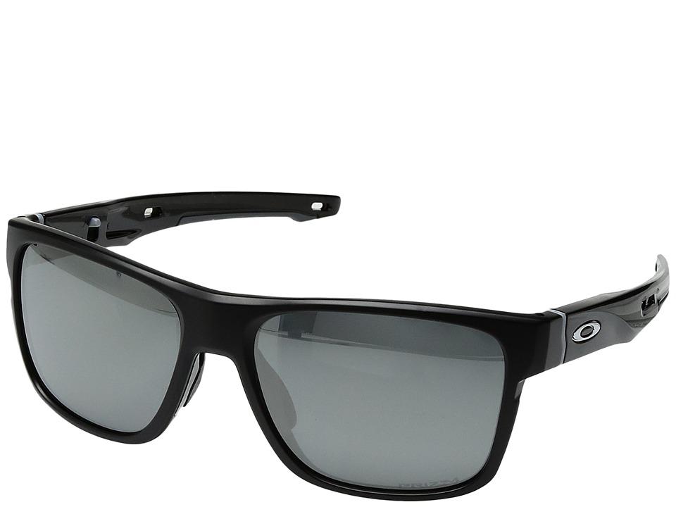 Oakley Crossrange (Matte Black w/ Prizm Black Polarized) ...