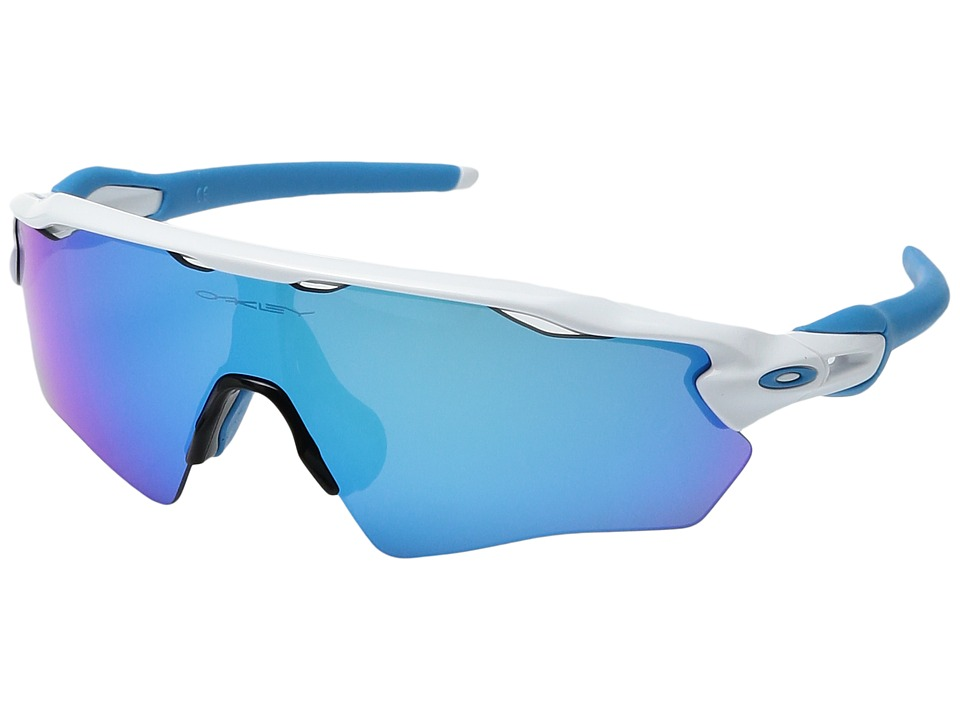 Oakley Radar EV XS Path (Polished White w/ Sapphire Iridi...