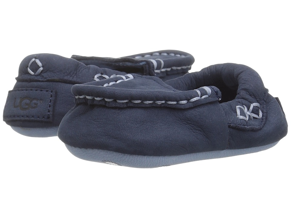 UGG Kids Sivia (Infant/Toddler) (Navy) Kid's Shoes