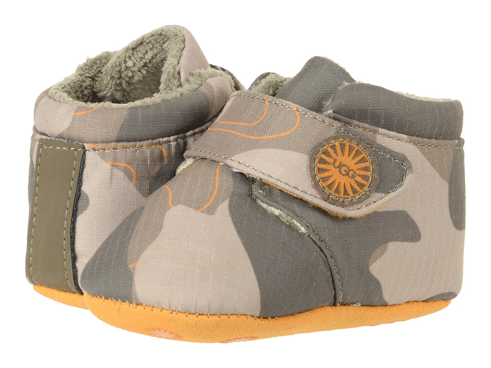 UGG Kids Bixbee Camo (Infant/Toddler) (Slate) Kid's Shoes