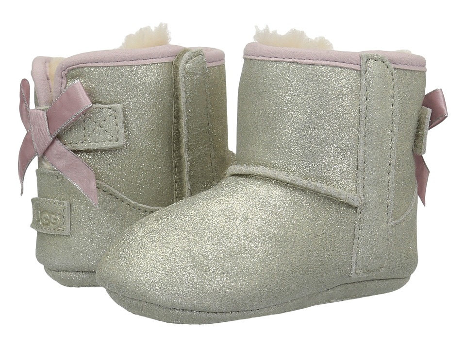 UGG Kids Jesse Bow II Metallic (Infant/Toddler) (Gold) Girls Shoes
