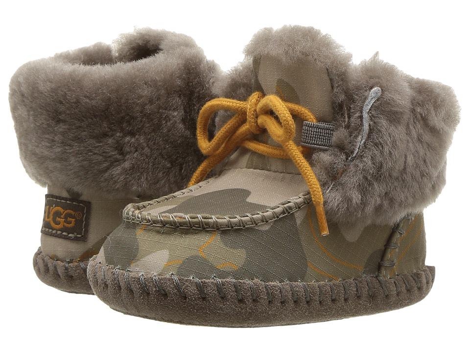 UGG Kids Sparrow Camo (Infant/Toddler) (Slate) Kids Shoes