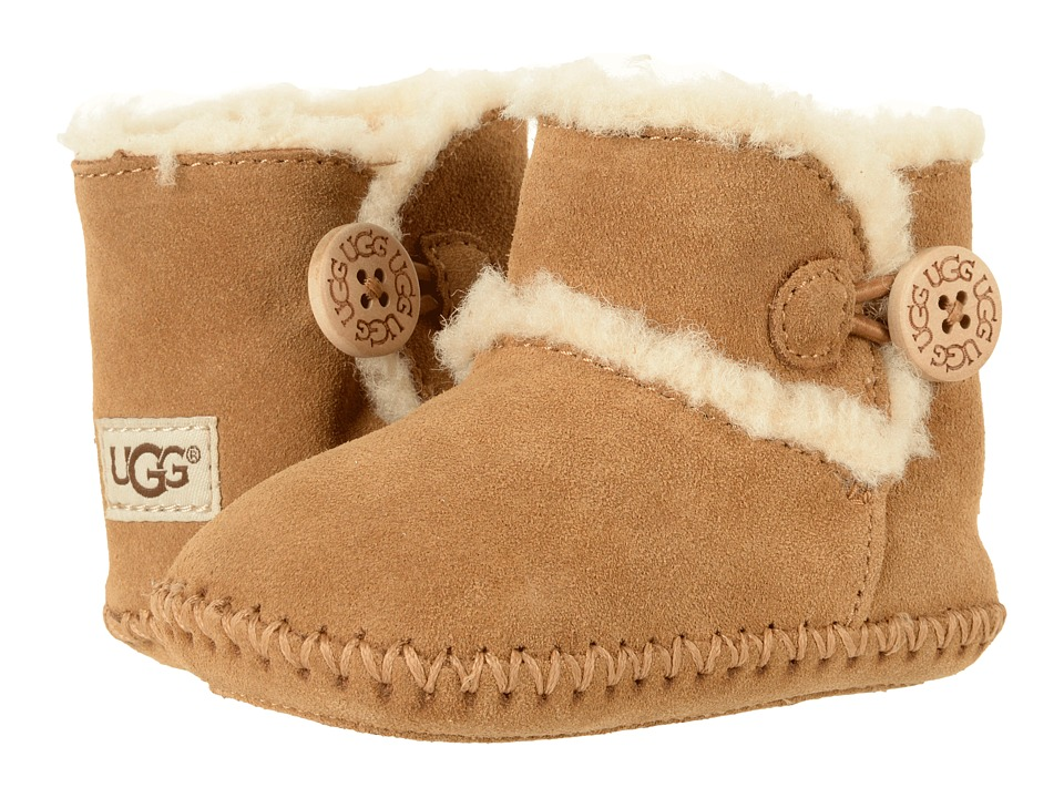 UGG Kids Lemmy II (Infant/Toddler) (Chestnut) Kids Shoes