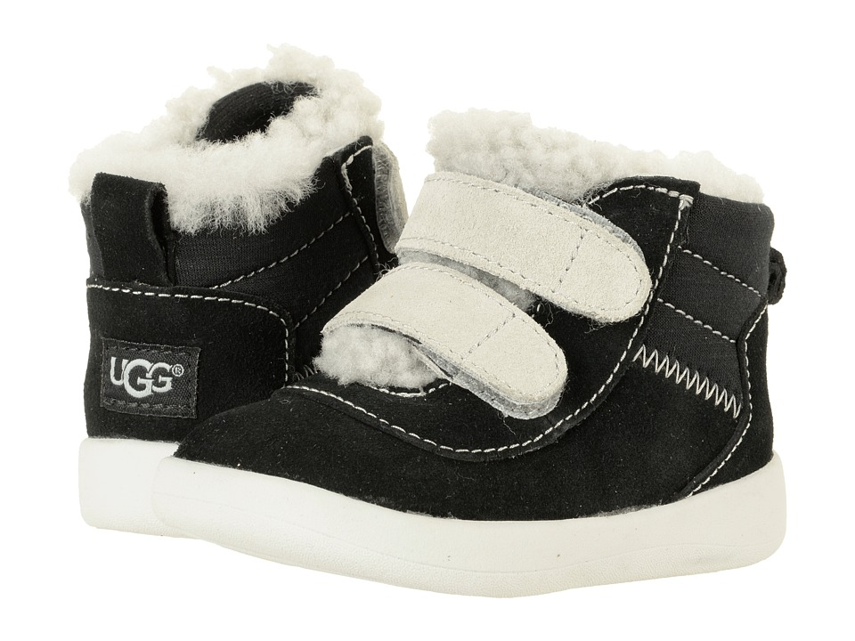 UGG Kids Pritchard (Infant/Toddler) (Black) Kid's Shoes