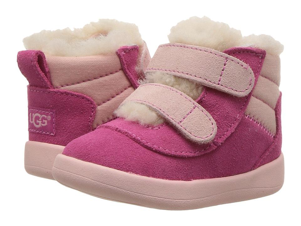 UGG Kids Pritchard (Infant/Toddler) (Pink Azalea) Girl