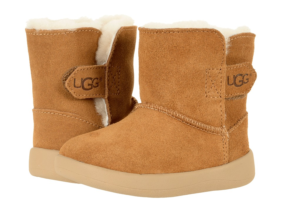 UGG Kids Keelan (Infant/Toddler) (Chestnut) Kids Shoes