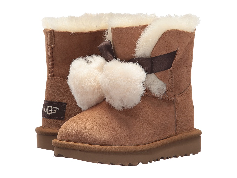 UGG Kids Gita (Toddler/Little Kid) (Chestnut) Girls Shoes
