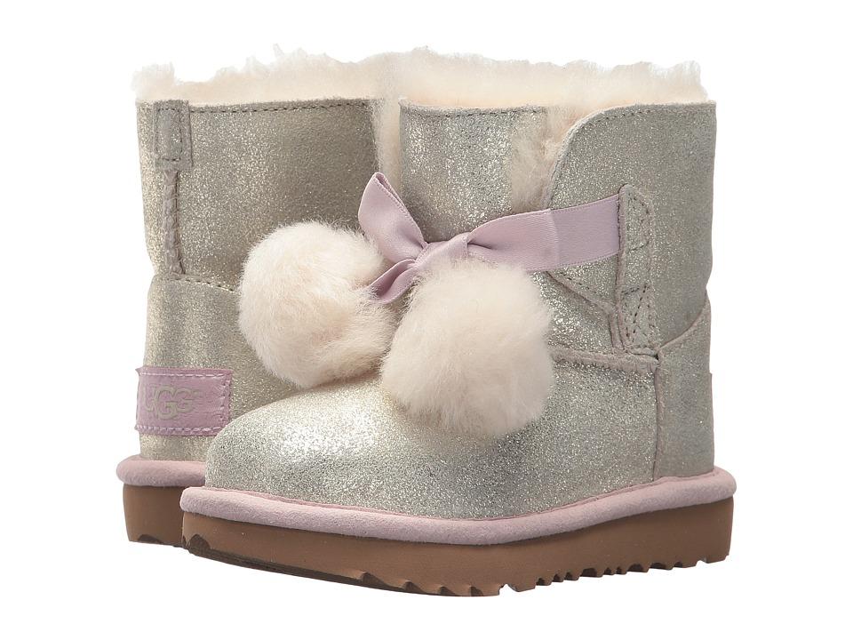UGG Kids Gita Metallic (Toddler/Little Kid) (Gold) Girls Shoes