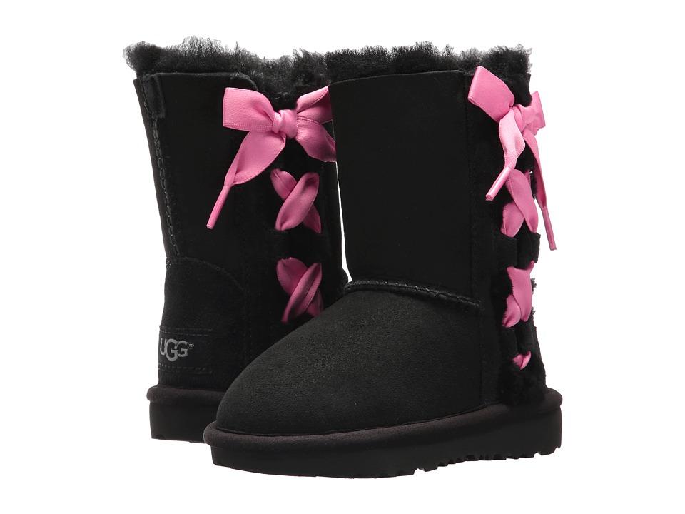 UGG Kids Pala (Toddler/Little Kid) (Black) Girls Shoes
