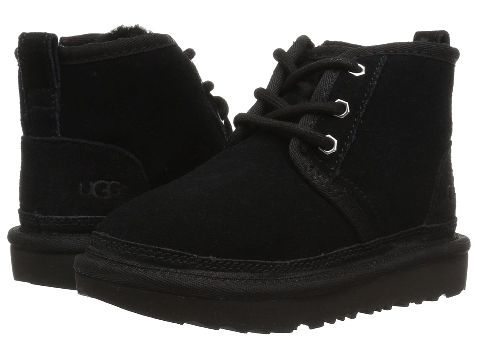 UGG Kids Neumel II (Toddler/Little Kid) (Black) Kid's Shoes