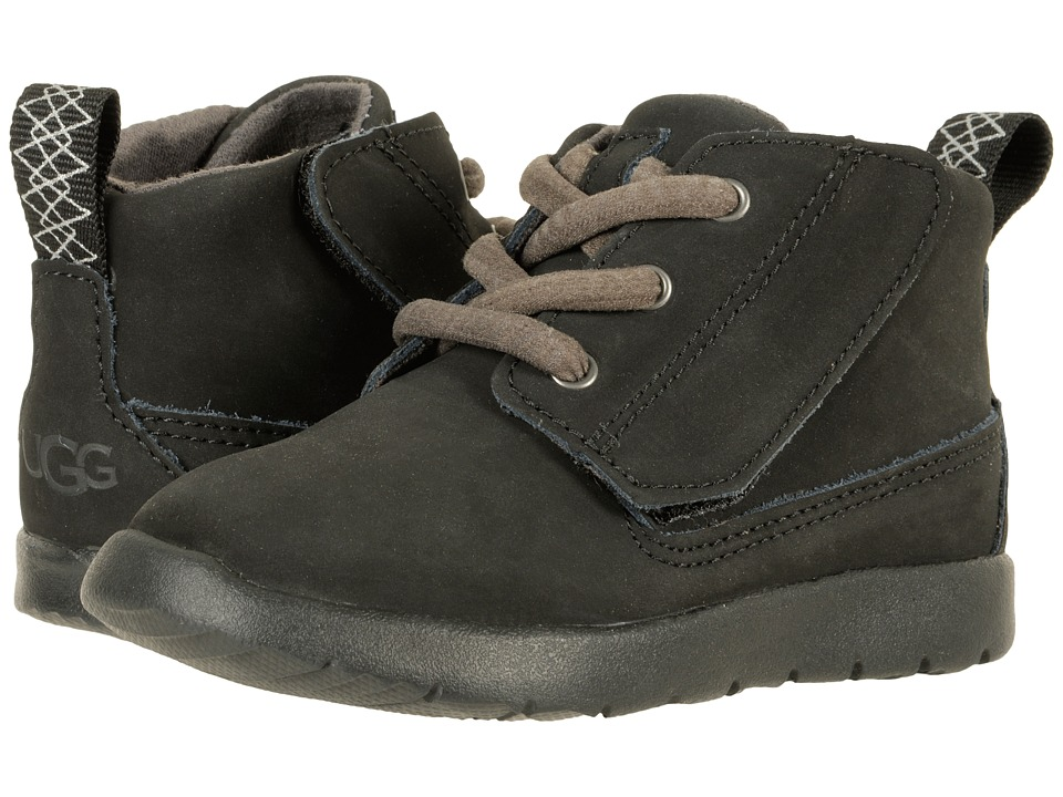 UGG Kids Canoe (Toddler/Little Kid) (Black) Kid's Shoes