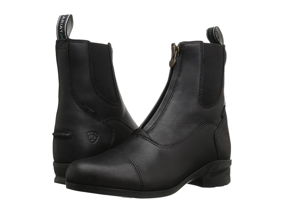 Ariat Heritage IV Zip H2O (Black) Cowboy Boots