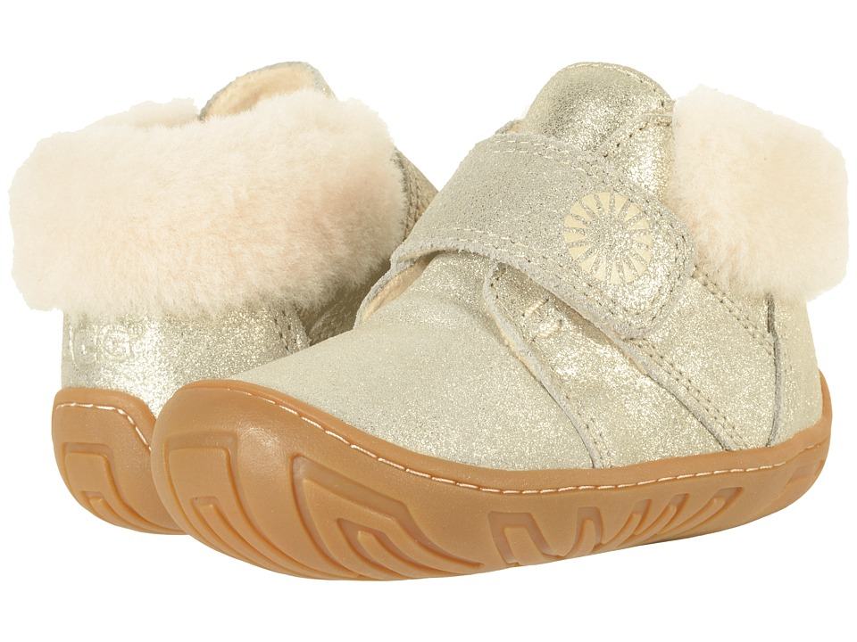 UGG Kids Jorgen Metallic (Toddler) (Gold) Girl's Shoes