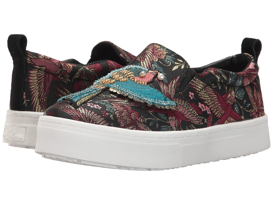Sam Edelman - Leila (Black Majestic Bird Jacquard) Womens Shoes