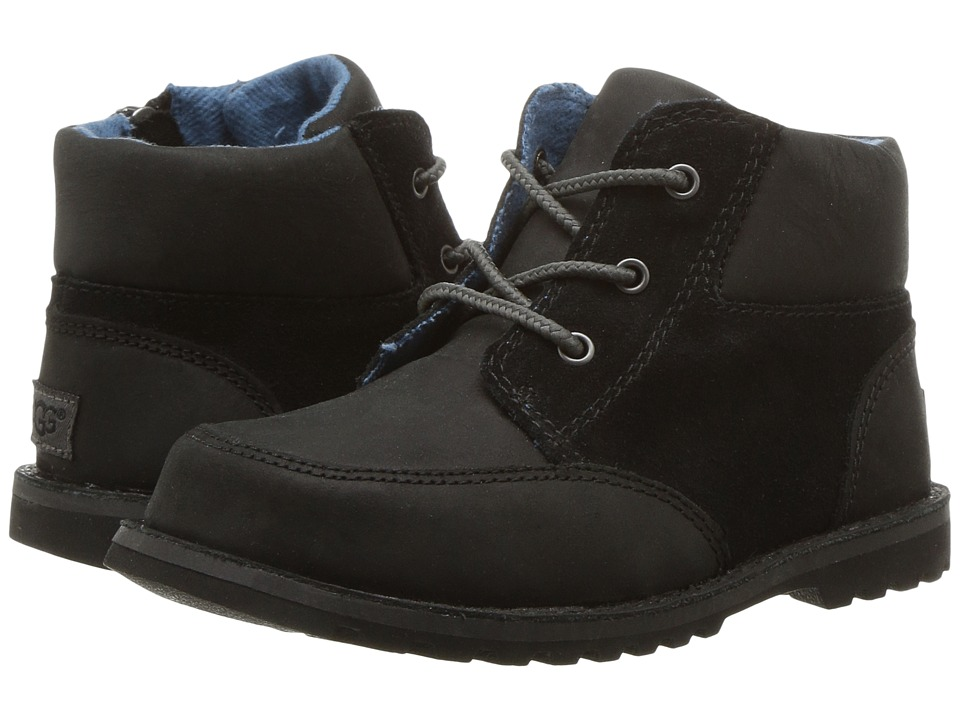 UGG Kids Orin (Toddler/Little Kid) (Black) Kid's Shoes